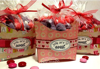 project and freebie: Fry Box Valentine container