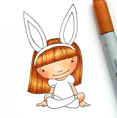 Tutorial: Copic Marker Hair Coloring