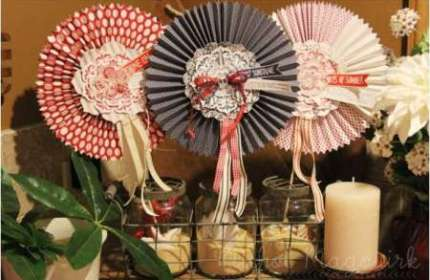Project: Fourth of July Table Decor