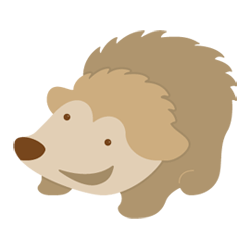 Freebie: Hedgehog SVG