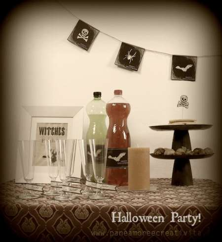Freebies: Halloween Party Printables