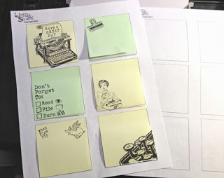 Project: Printed Post It Notes