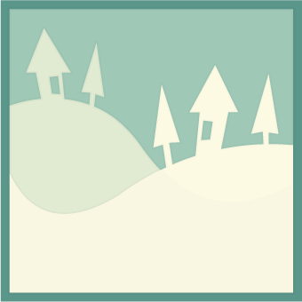 Freebie: Winter Scene SVG Cut File