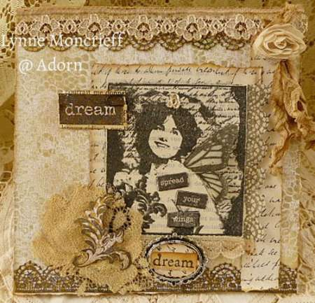 Project: Stamped Collage Art