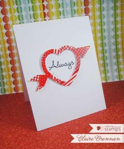 Project: Washi Tape Valentine Card