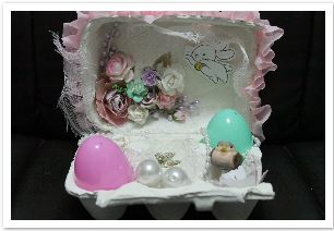 Inspiration: Decorated Egg Carton