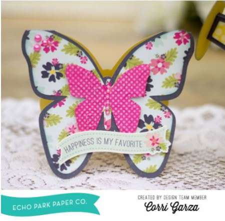 Project: Fold Over Butterly Card