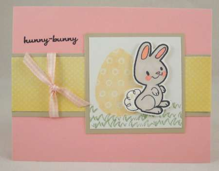 Project: Easter Bunny Card