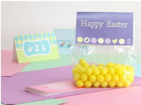 Freebie: Easter Candy Bag Toppers