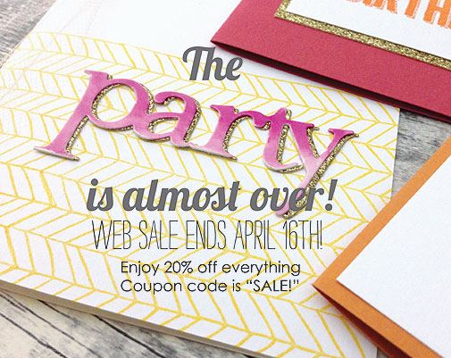 Sale Impress Stamps!