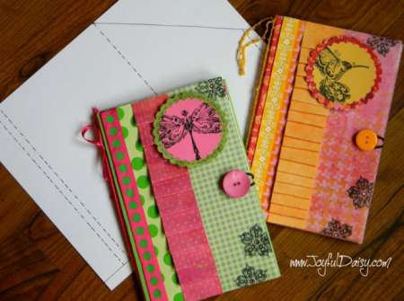 Project and Freebie: Notebook Cover