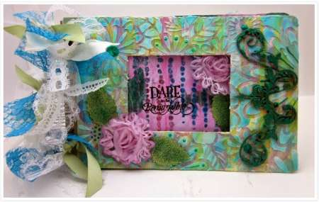 project: mixed media album