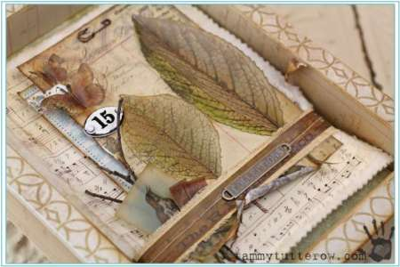 Project: Mixed Media Nature Shadow Box