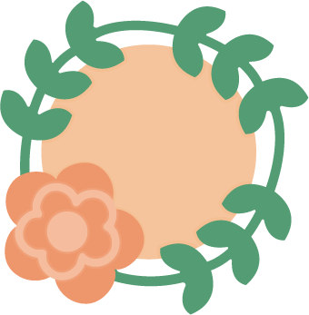 Freebie : Flower Wreath Die Cut