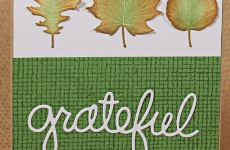 Project: Fall Leaves Card