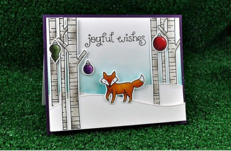 Project: Fox in the Forest Card