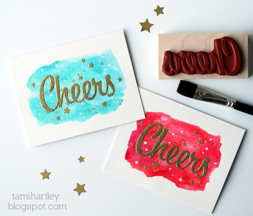 Project: Simple and Quick Christmas Card