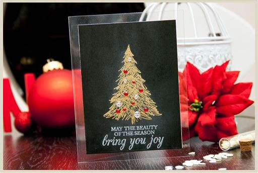 Project: Elegant Embossed Christmas Card