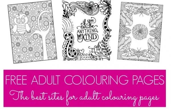 Freebie and Trend: Coloring Pages for Adults Who Love to Color