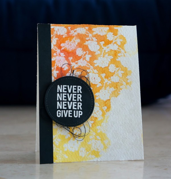 Projects: Three Distress Ink Cards
