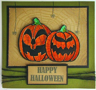 Project: Halloween Pumpkin Card
