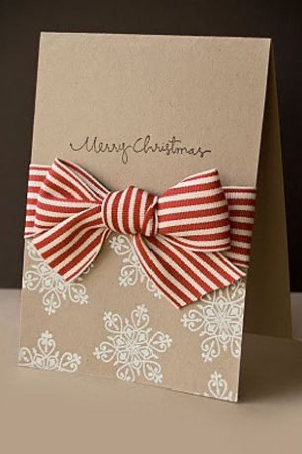 8 holiday cards to diy stamping for Elegant christmas card ideas