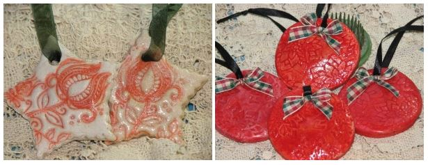 Project: Stamped Christmas Cookie Ornaments