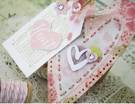 Project: Sewn Paper Hearts