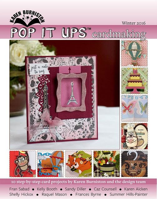 Freebie: On Line Pop Up Cards Book