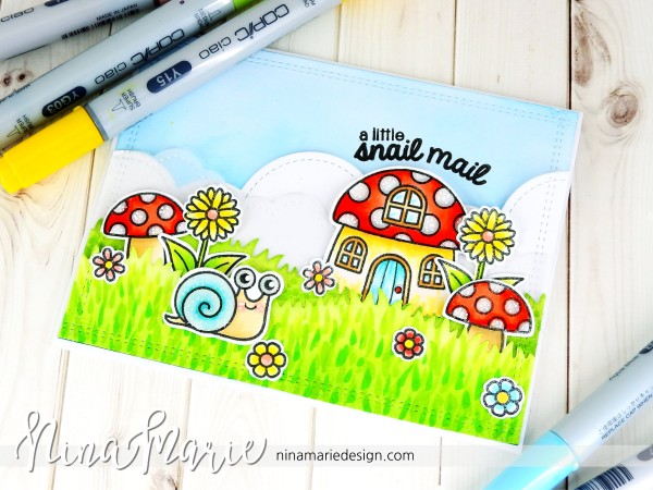 Project: Snail Mail Card