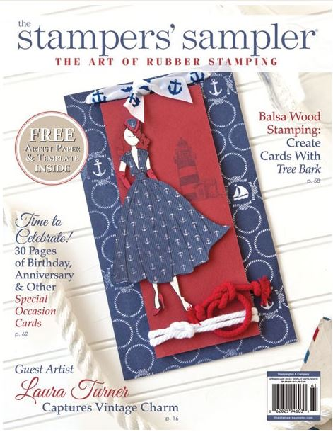 Giveaway and Review: Stampers Sampler Magazine