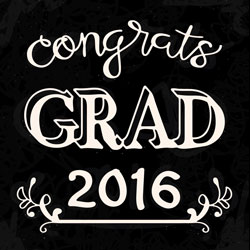 Freebie: Graduation Phrase