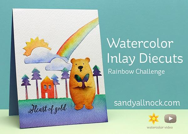 Technique: Inlay-ed Die Cut Card