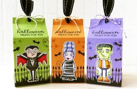 Project: Halloween Milk Carton Box