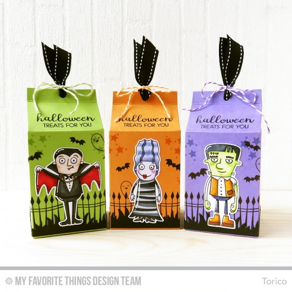 Project: Halloween Milk Carton Box