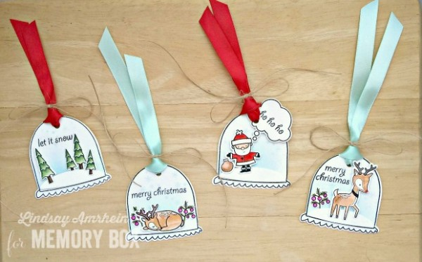 Project: Snowglobe Gift Tags