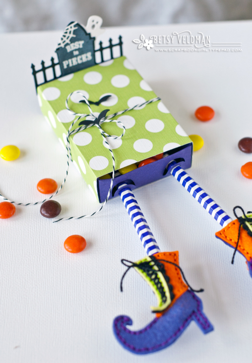 Project: Witch Legs Halloween Treat Box