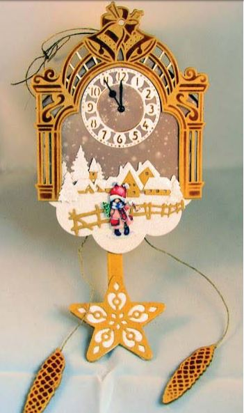Project: 3D Paper Cuckoo Clock