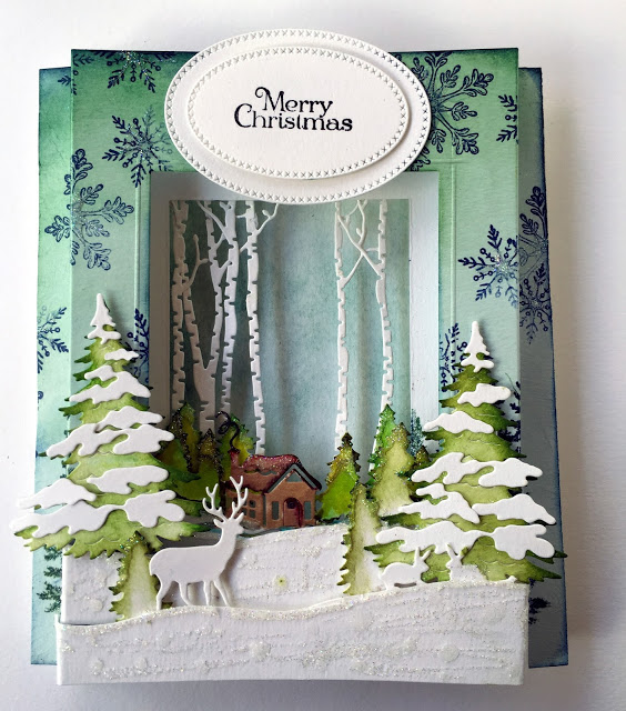 Project: Pop Up Winter Diorama Card