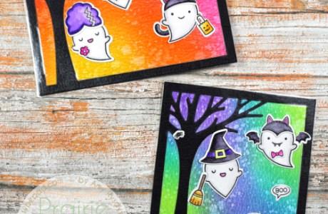 Tutorial: Repositionable Halloween Scene Cards
