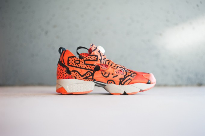 """Keith Haring x Reebok Insta Pump Fury OG """"Crack is Wack"""" Available Now"""