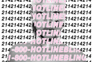 Hotline Bling Erykah Badu Artwork
