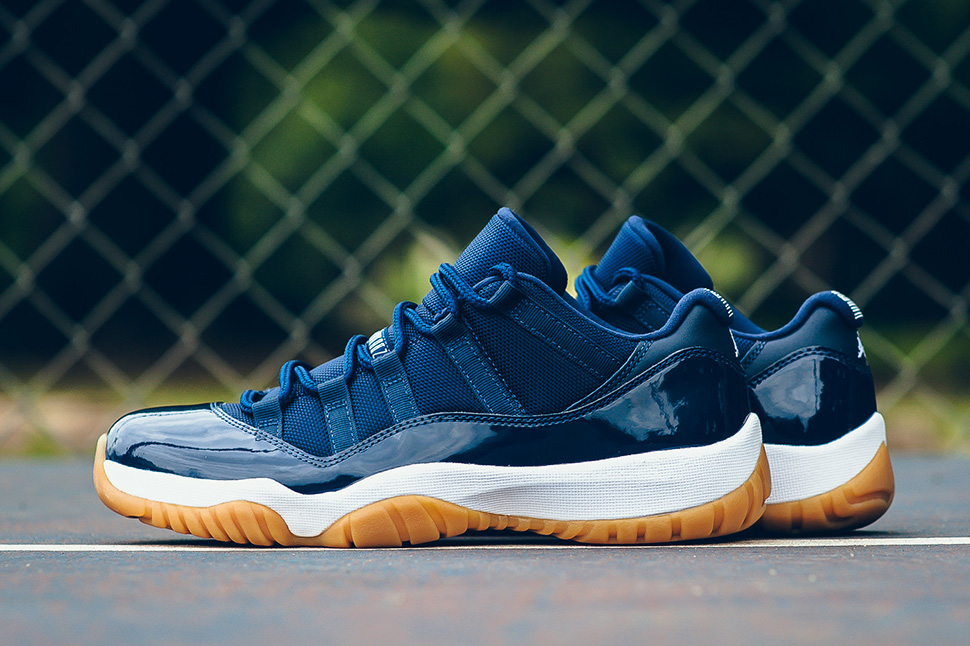 """Air Jordan 11 Low """"Midnight Navy"""" Arriving To Stores"""