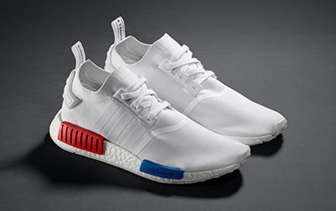 adidas NMD Runner PK White, Red & Blue (release date)