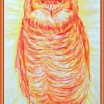 Мудрость<br />35х60, бумага, акварельные карандаши, 2009г.