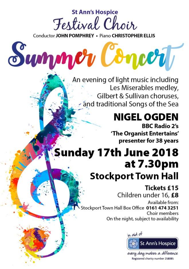Summer Concert 2018 A5 flyer