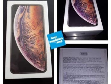 iPhone XS MAX 256Go GOLD