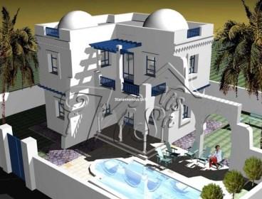 CONSTRUCTION DE VILLA AVEC PISCINE A DJERBA HOUMT SOUK DJERBA