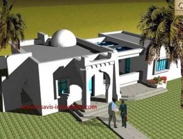 :PROJET DE CONSTRUCTION A HOUMT SOUK DJERBA EN ZONE URBAINE
