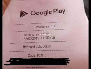 Carte Google play
